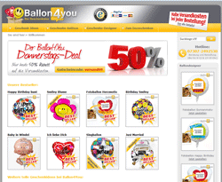 Ballon4you Gutschein