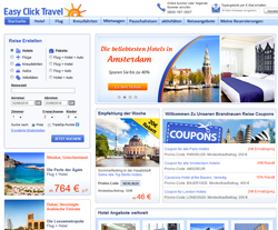 Easy Click Travel Gutschein